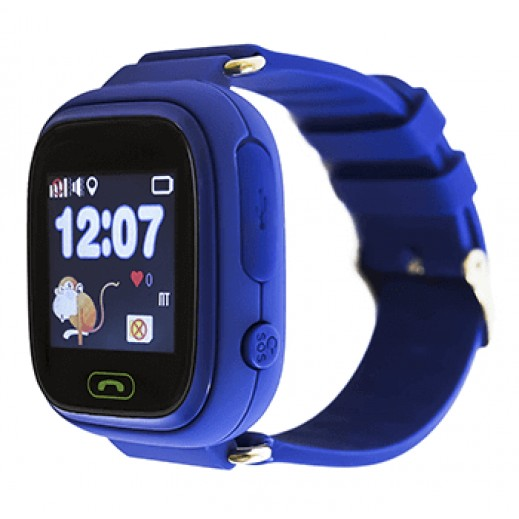 Часы Smart Baby Watch Q90 with Wi-Fi (Blue)