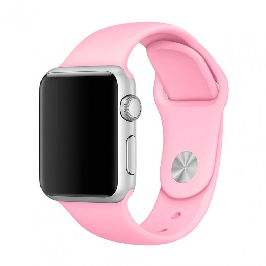 Curelușă  Watch Sport Band 38 mm/40 mm Bright Pink