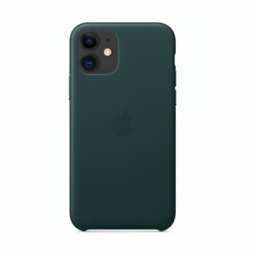 Leather Case iPhone 11 Green
