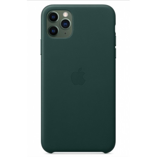 Leather Case iPhone 11 Pro Green
