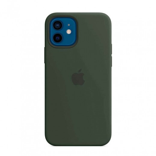 Leather Case iPhone 12/12 Pro Green