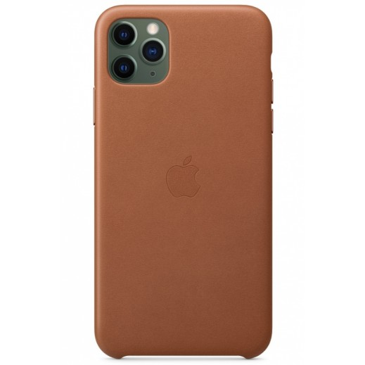 Leather Case iPhone 11 Pro Max Saddle Brown