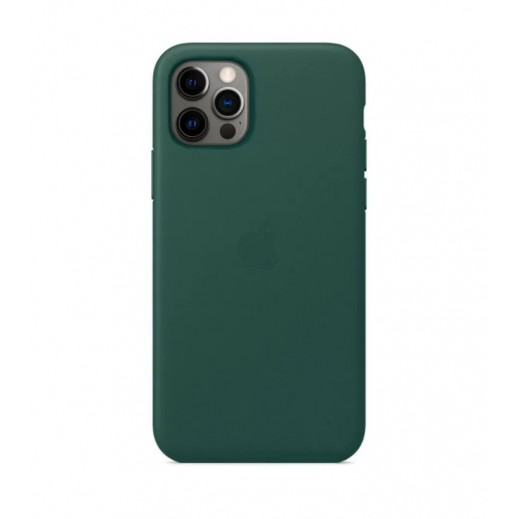 Leather Case iPhone 12 Pro Max Gray