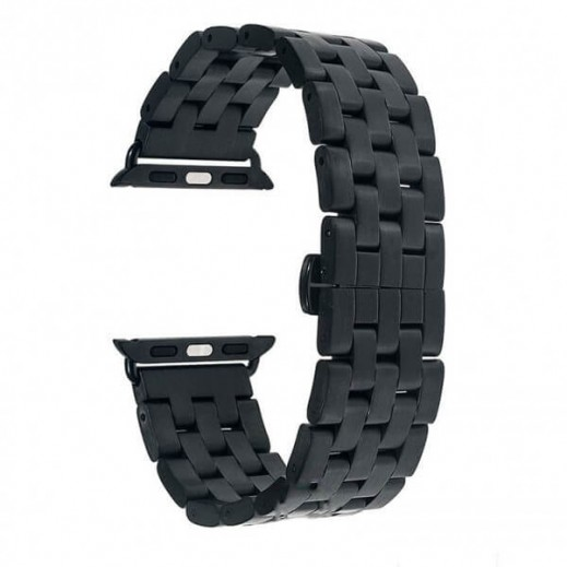 Curelușă  Watch Band 5-Bead (size:42) Black