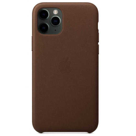 Leather Case iPhone 11 Pro Saddle Brown