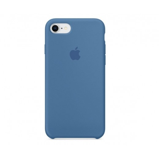 Apple Original Silicone Case iPhone 7 (03) Royal Blue